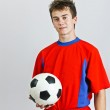 Young soccer player — Stock Photo #11529311