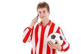 足球运动员 — 图库照片