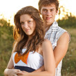 Young couple embracing — Stock Photo #11954775