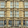 Facade of the Houses of Parliament — ストック写真