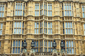 Facade of the Houses of Parliament — Stock Photo