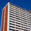 Apartment building in East Berlin — Stock Photo #10791134
