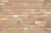 стена из коричневого песчаника — Стоковое фото
