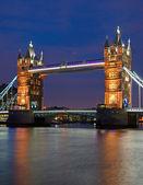 Tower bridge w londynie — Zdjęcie stockowe