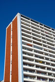 Typical apartment building in East Berlin — Stock Photo