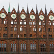 Stock Photo: Townhall of Stralsund