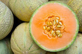 Honeydew melons — Stock Photo