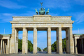 The Brandenburger Tor in Berlin — Stock Photo