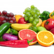 Collection fruits and vegetables — Stock Photo #10959166