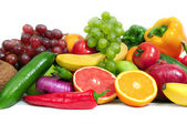 Collection fruits and vegetables — Foto Stock