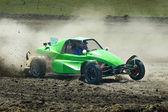 Sports car racing — Stock Photo