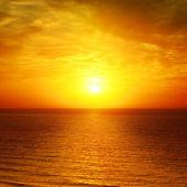 Beau coucher de soleil — Photo