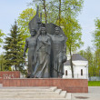 A monument to the heroes of the war in Russia — Stock Photo