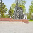A monument to the heroes of the war in Russia — Stock Photo #11322364