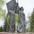 Royalty-Free Stock Photo: A monument to the heroes of the war in Russia