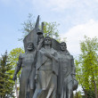 A monument to the heroes of the war in Russia — Stock Photo #11322428