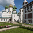 Churches and monasteries in Suzdal — Stok Fotoğraf #11904756