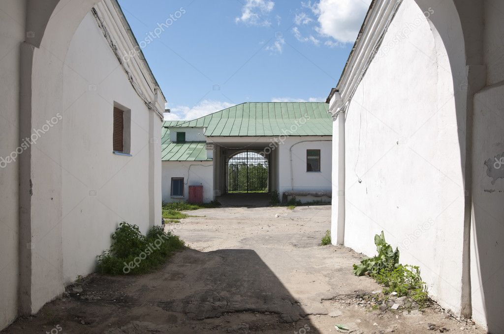 The streets and courtyards of the old Suzdal  Stock Photo #11902851