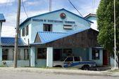 Polisstation, ushuaia — Stockfoto