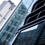 Office buildings architecture london uk — Stock Photo #11025078