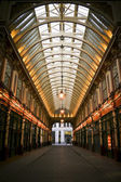 Leadenhall market shopping arcade london — Stock Photo