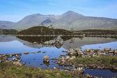 Rannoch moor lago highlands escocia — Foto de Stock