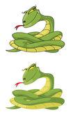Juego de serpiente chica — Vector de stock