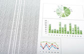 Charts and graphs — Stock Photo