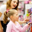 Mother and daughter shopping — Stock Photo #10975917