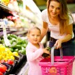Mother and daughter shopping — Stock Photo #10976007