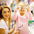 Mother and daughter shopping — Stock Photo #10976056