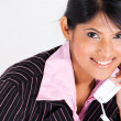 Beautiful businesswoman on phone — Stock Photo #10981035