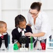 Stock Photo: Elementary science class