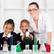 Elementary science class — Stockfoto