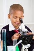 Science boy — Stock Photo