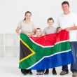Happy south african family — Stock Photo