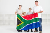Happy south african family — Zdjęcie stockowe