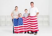 American family — Stock Photo