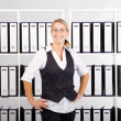 Confident businesswoman — Stock Photo