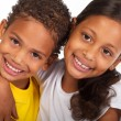 African american brother and sister - Stock fotografie