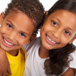 African american brother and sister - Foto Stock
