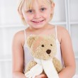 Little girl patient — Stock Photo