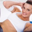 Fitness woman stretching — Stock Photo #11159411