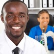 African american medical researchers — Stock Photo #11281441