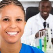 African american medical researchers — Stock Photo #11281448