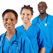 Foto Stock: Group of african american medical professionals