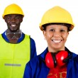 African american industrial workers — Stock Photo #11306836