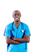 Young african american doctor — Photo