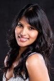 Beautiful young indian woman portrait — Stock Photo