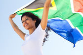 South african woman — Stock Photo